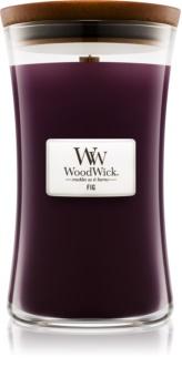 Woodwick Fig lumânare parfumată  609,5 g mare