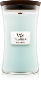 Woodwick Pure Comfort świeczka zapachowa  609,5 g duża