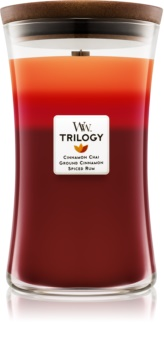 Woodwick Trilogy Exotic Spices  lumanari parfumate  609,5 g mare