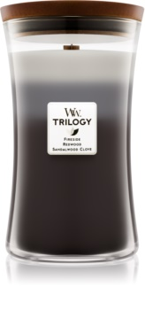 Woodwick Trilogy Warm Woods Scented Candle 609,5 g Large