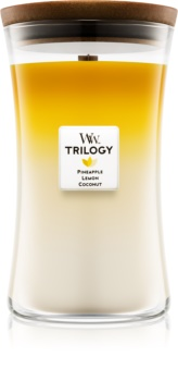 Woodwick Trilogy Fruits of Summer Scented Candle 609,5 g Large