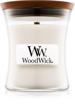 Woodwick Baby Powder vonná svíčka 85 g