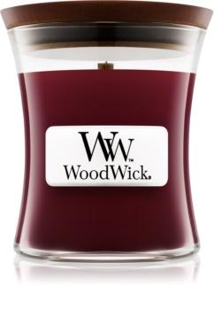 Woodwick Black Cherry vonná sviečka 85 g malá