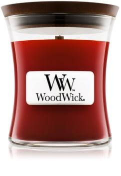 Woodwick Cinnamon Chai świeczka zapachowa  85 g z drewnianym knotem