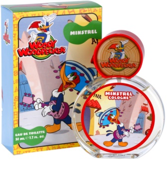 Woody Woodpecker Minstrel toaletná voda pre deti 50 ml