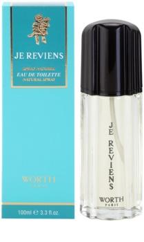 Worth Je Reviens Eau de Toilette for Women 100 ml