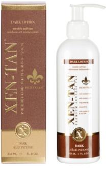 Xen-Tan Dark samoopalovací mléko na tělo a obličej