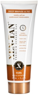 Xen-Tan Dark Tan leite autobronzeador para corpo e rosto com libertação gradual para rosto e corpo com um efeito prolongado