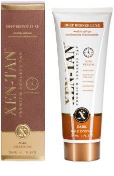 Xen-Tan Dark Tan Zelfbruinende Melk  voor Lichaam en Gezicht met Langdurige Afgifte