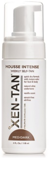 Xen-Tan Medium espuma autobronzeadora  para corpo e rosto