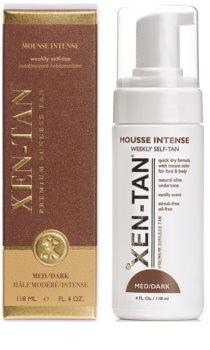Xen-Tan Medium Zelfbruinende Schuim  voor Lichaam en Gezicht