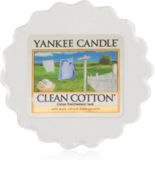 Yankee Candle Clean Cotton illatos viasz aromalámpába 22 g