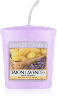 Yankee Candle Lemon Lavender votívna sviečka 49 g