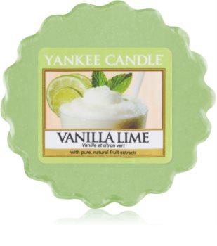 Yankee Candle Vanilla Lime восък за арома-лампа  22 гр.