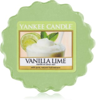Yankee Candle Vanilla Lime cera para lámparas aromáticas 22 g