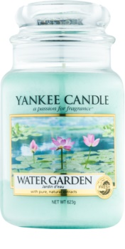Yankee Candle Water Garden Αρωματικό κερί 623 γρ Κλασικό μεγάλο