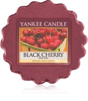 Yankee Candle Black Cherry illatos viasz aromalámpába 22 g