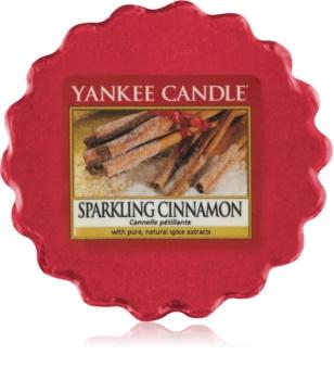 Yankee Candle Sparkling Cinnamon κερί για αρωματική λάμπα 22 γρ