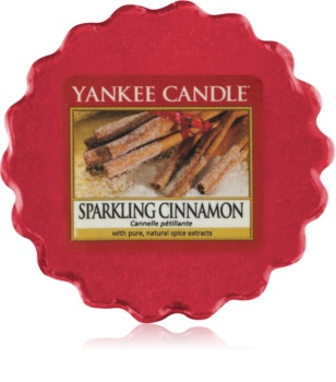 Yankee Candle Sparkling Cinnamon cera para lámparas aromáticas 22 g