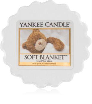 Yankee Candle Soft Blanket Duftwachs für Aromalampe 22 g