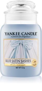 Yankee Candle Blue Satin Sashes lumânare parfumată  623 g Clasic mare