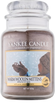 Yankee Candle Warm Woolen Mittens Scented Candle 623 g Classic Large