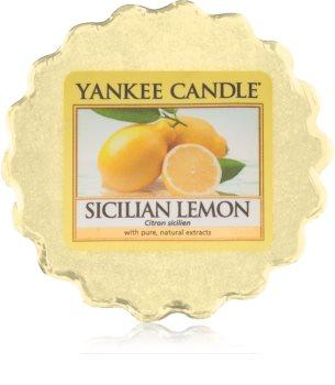 Yankee Candle Sicilian Lemon Duftwachs für Aromalampe 22 g