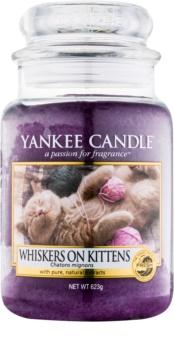 Yankee Candle Whiskers on Kittens Αρωματικό κερί 623 γρ Κλασικό μεγάλο