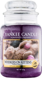 Yankee Candle Whiskers on Kittens candela profumata 623 g Classic grande