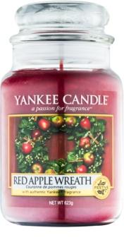 Yankee Candle Red Apple Wreath Αρωματικό κερί 623 γρ Κλασικό μεγάλο