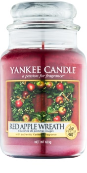 Yankee Candle Red Apple Wreath vonná sviečka 623 g Classic veľká