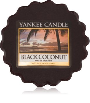 Yankee Candle Black Coconut ceară pentru aromatizator 22 g