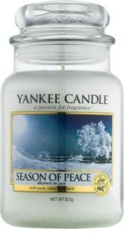 Yankee Candle Season of Peace vonná sviečka 623 g Classic veľká