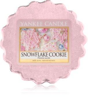 Yankee Candle Snowflake Cookie ceară pentru aromatizator 22 g