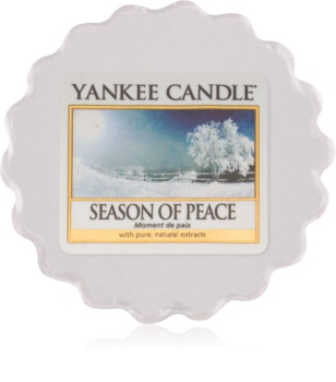 Yankee Candle Season of Peace tartelette en cire 22 g