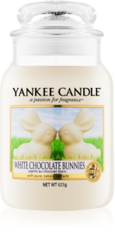 Yankee Candle White Chocolate Bunnies vonná svíčka 623 g Classic velká