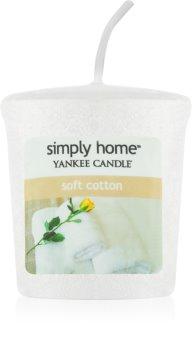 Yankee Candle Soft Cotton votivní svíčka 49 g