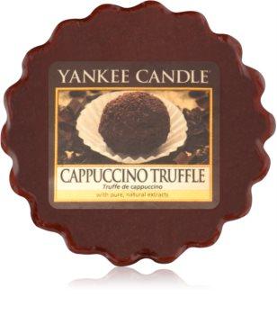 Yankee Candle Cappuccino Truffle cera para lámparas aromáticas 22 g