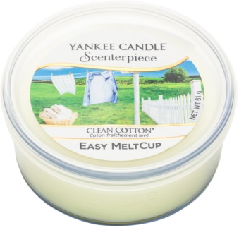 Yankee Candle Scenterpiece  Clean Cotton elektromos aromalámpa viasz 61 g