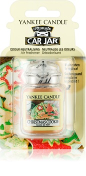 Yankee Candle Christmas Cookie parfum pentru mașină   agățat