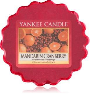 Yankee Candle Mandarin Cranberry tartelette en cire 22 g