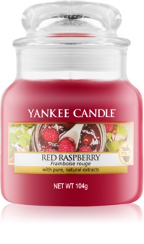 Yankee Candle Red Raspberry vonná svíčka 104 g Classic malá
