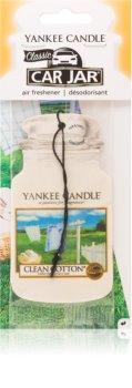 Yankee Candle Clean Cotton zawieszka zapachowa do auta