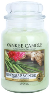Yankee Candle Lemongrass & Ginger candela profumata 623 g Classic grande