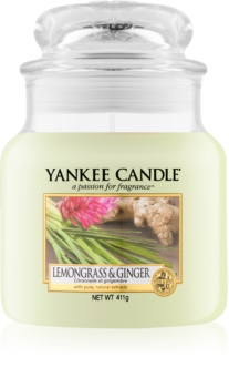Yankee Candle Lemongrass & Ginger Scented Candle 411 g Classic Medium