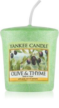 Yankee Candle Olive & Thyme candela votiva 49 g