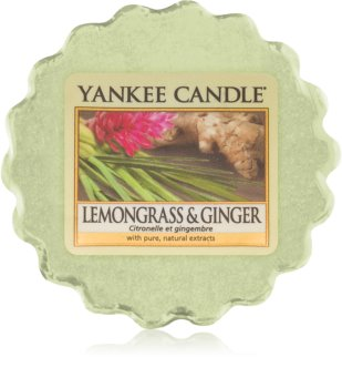 Yankee Candle Lemongrass & Ginger illatos viasz aromalámpába 22 g
