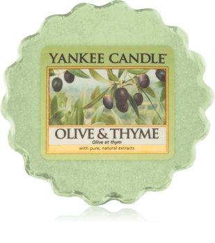 Yankee Candle Olive & Thyme Duftwachs für Aromalampe 22 g