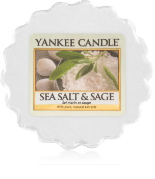 Yankee Candle Sea Salt & Sage cera per lampada aromatica 22 g