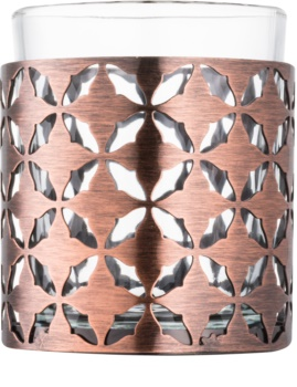 Yankee Candle Maroccan Copper Glass Votive Candle Holder